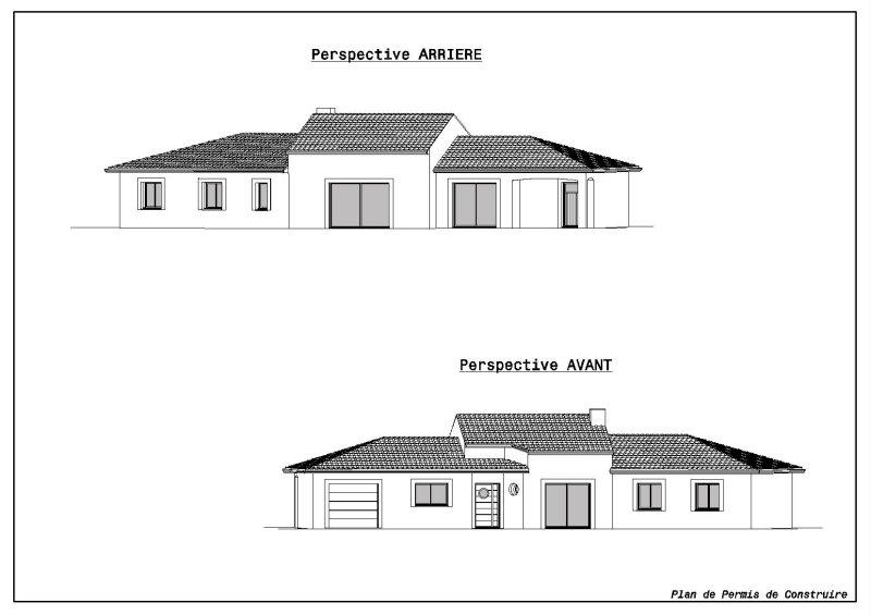 Conception plans r alisation de plans de maisons for Conception de croquis de plan de maison